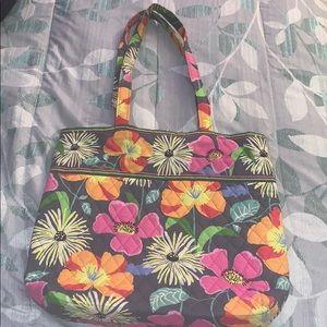 Vera Bradley jazzy blooms bag